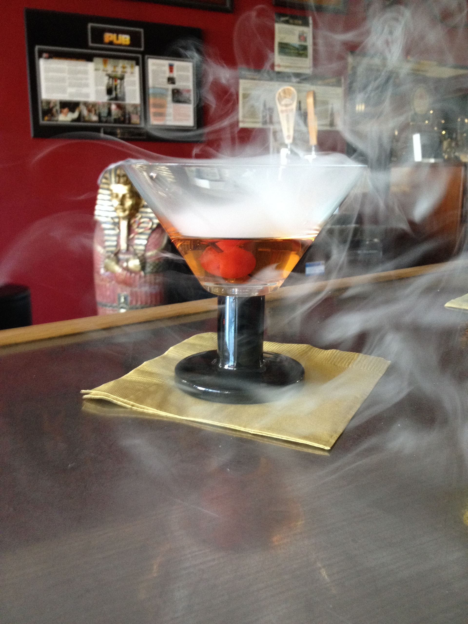 Smoking Manhattan